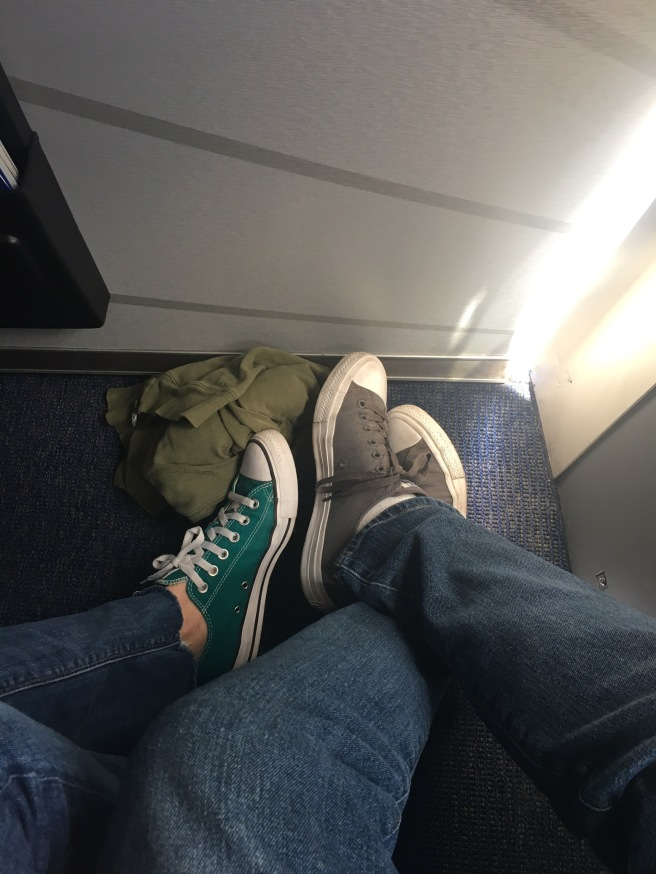 All the legroom on Southwest Airlines